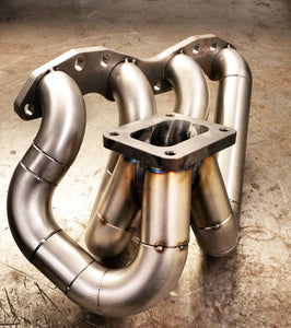 SR20 top mount turbo manifold