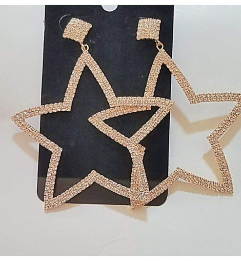 Shine Star earings