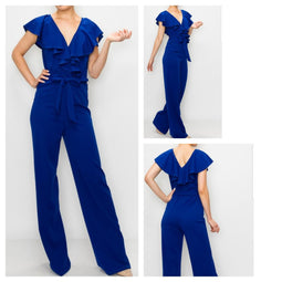 Royal Ruffles Jumpsuit