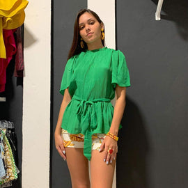 Green Joy Blouse