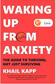 Khail Kapp Waking Up from Anxiety Book
