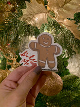 "Load image into Gallery viewer, Holiday Exclusive ""Bite Me"" Gingerbread Cookie"