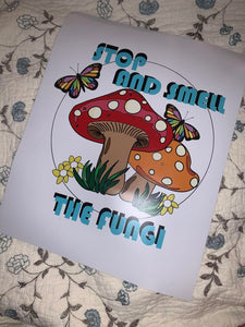 Stop and Smell the Fungi Prints
