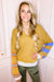 Mustard V-Neck Sweater