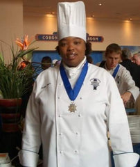 Chef Alanna, 2004 graduation.