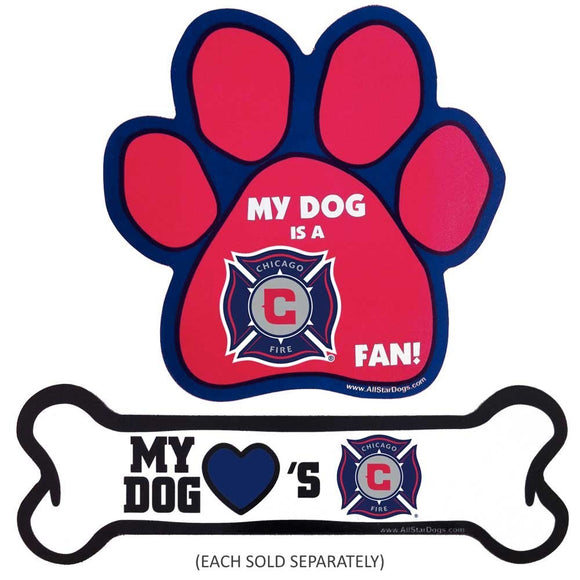 Chicago Fire Car Magnets