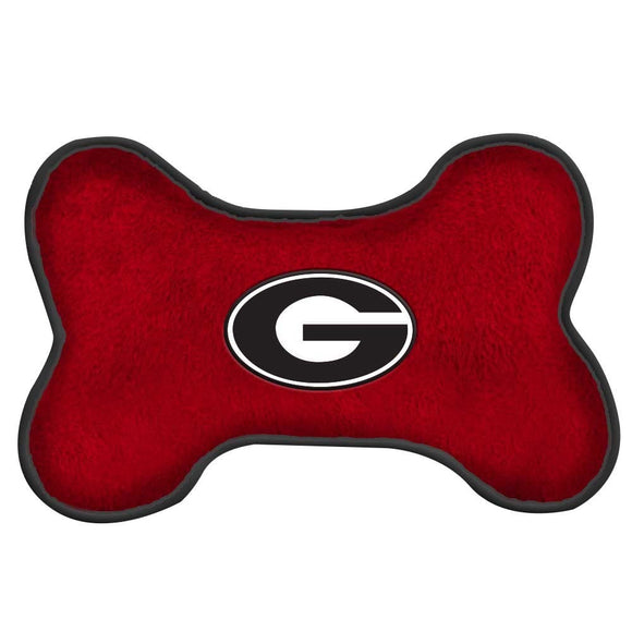 Georgia Bulldogs Squeak Toy