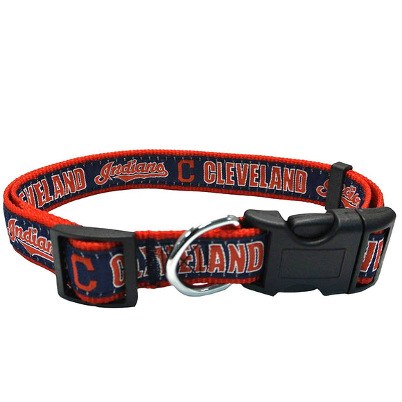 Cleveland Indians Pet Collar by Pets First