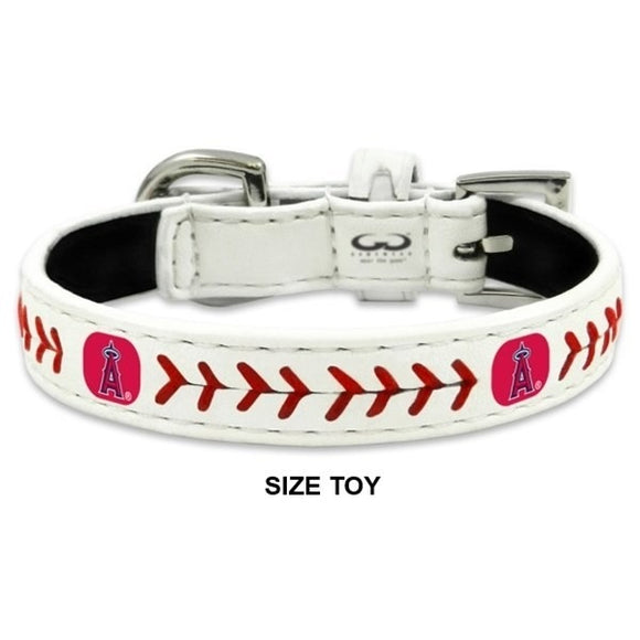 Los Angeles Angels Classic Leather Baseball Collar