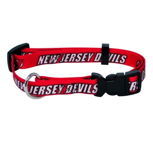 New Jersey Devils Pet Collar