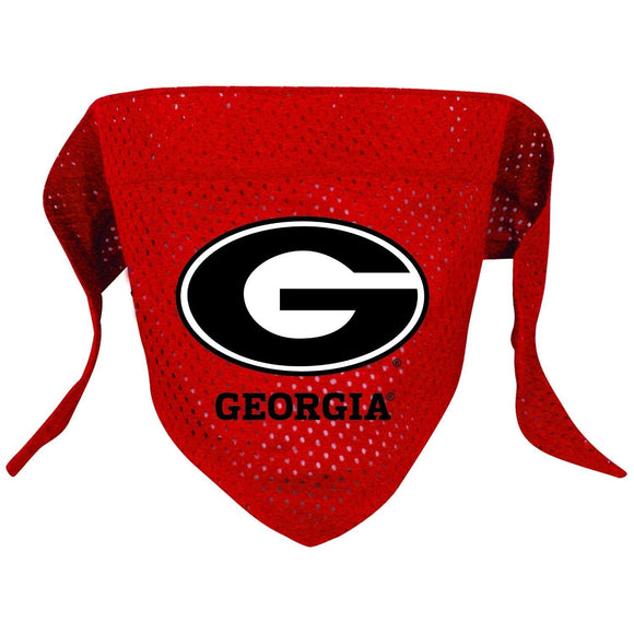 Georgia Bulldogs Pet Mesh Bandana