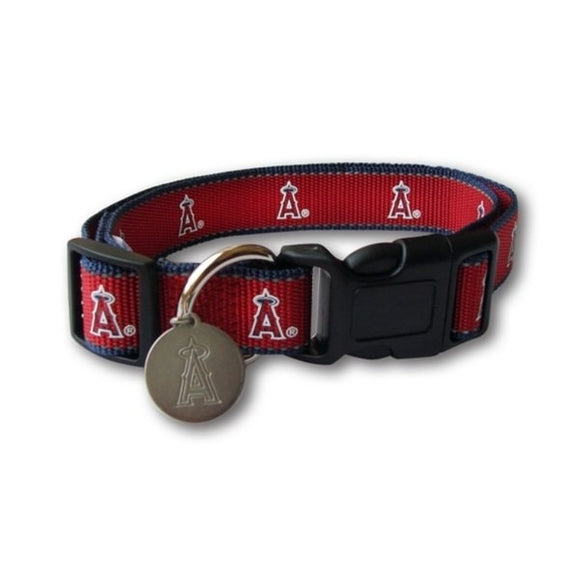 Los Angeles Angels Reflective Dog Collar
