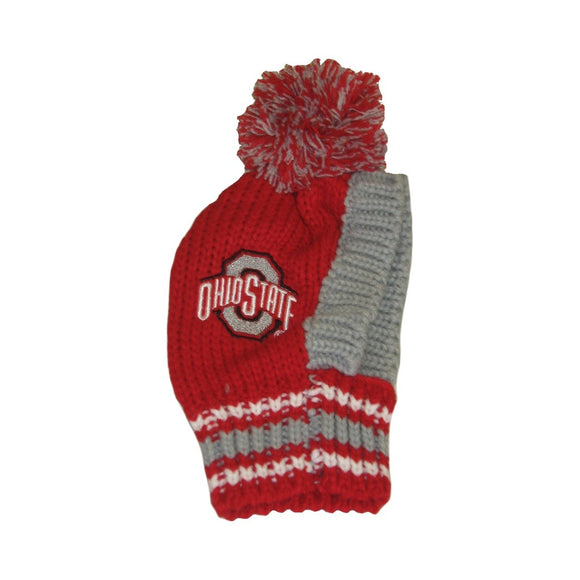 Ohio State Buckeyes Pet Knit Hat