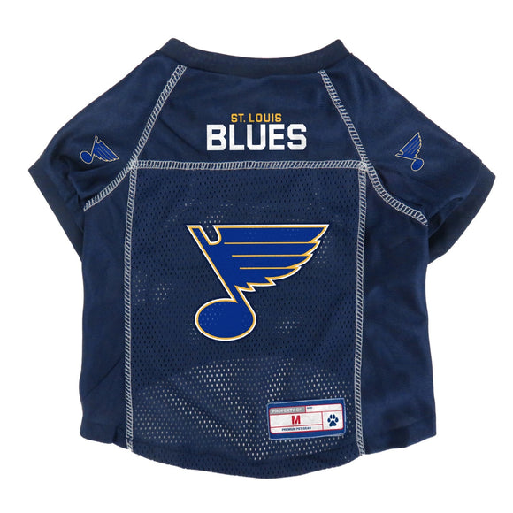 St. Louis Blues Pet Mesh Jersey