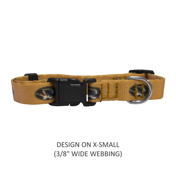 Missouri Tigers Pet Nylon Collar