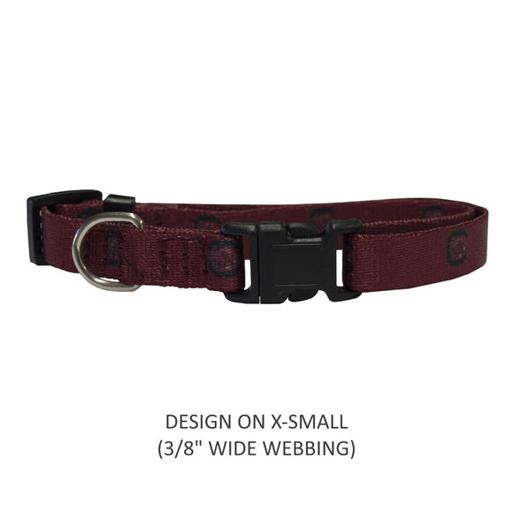 South Carolina Gamecocks Pet Nylon Collar