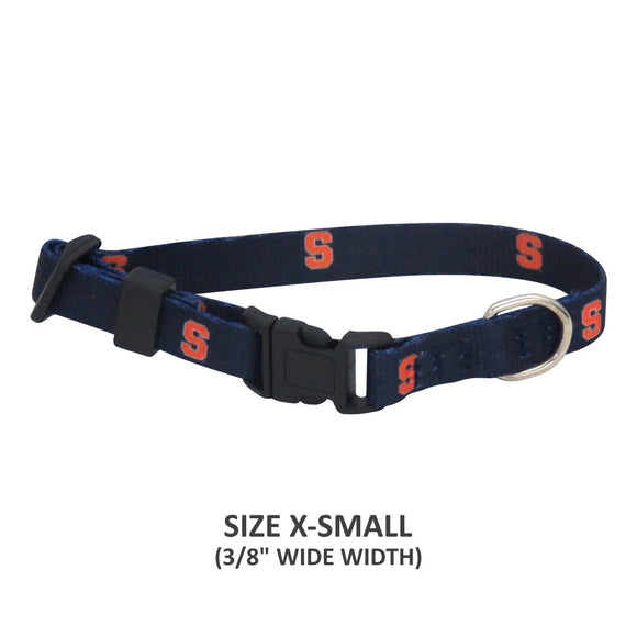 Syracuse Orange Pet Nylon Collar