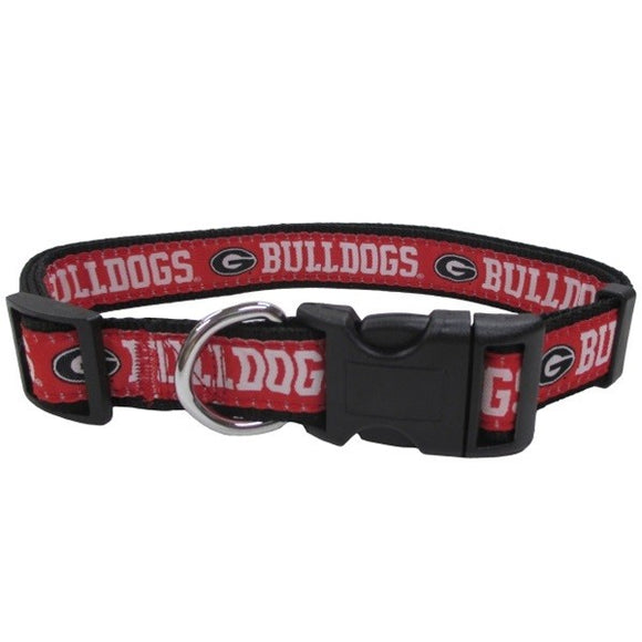 Georgia Bulldogs Pet Collar by Pets First