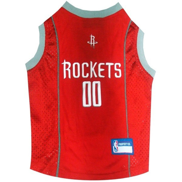 Houston Rockets Pet Jersey