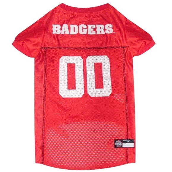 Wisconsin Badgers Pet Jersey