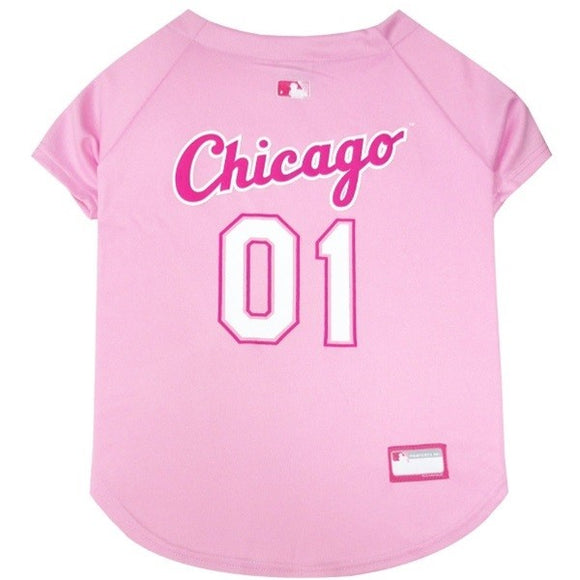 Chicago White Sox Pink Pet Jersey