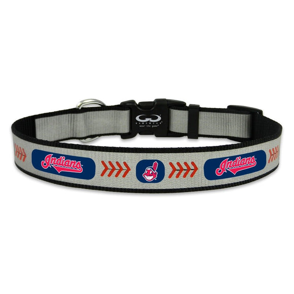 Cleveland Indians Pet Reflective Collar