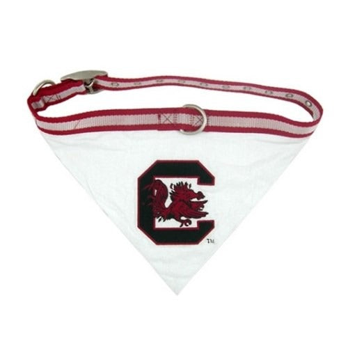 South Carolina Gamecocks Dog Collar Bandana