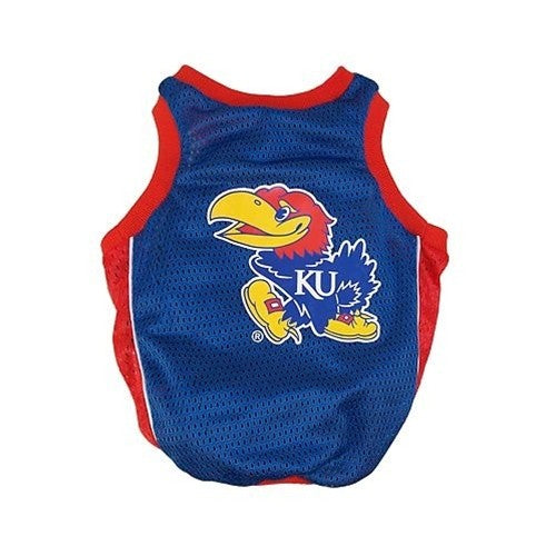 Kansas Jayhawks Alternate Style Dog Jersey
