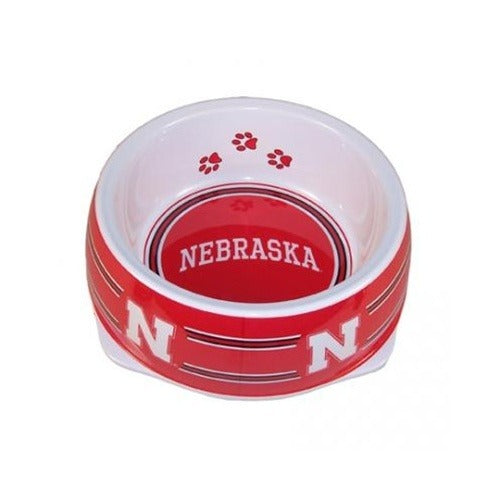 Nebraska Huskers Dog Bowl