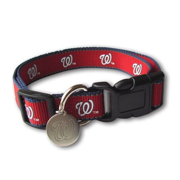 Washington Nationals Reflective Pet Collar