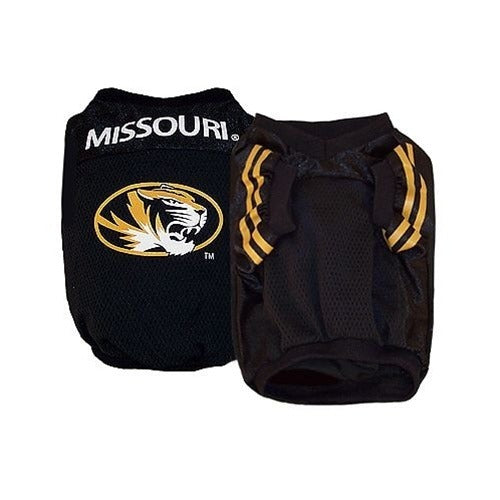 Missouri Tigers Dog Jersey Alternate Style