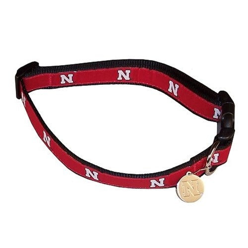 Nebraska Huskers Alternate Style Dog Collar