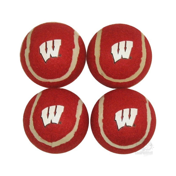 Wisconsin Badgers Tennis Ball 4