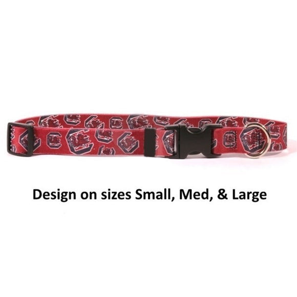 South Carolina Gamecocks Nylon Collar