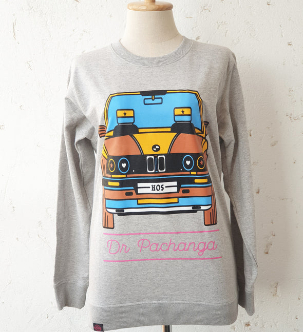 Crew Neck Sweater B-M-W - DR PACHANGA