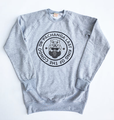 Crew Neck Sweater Pachanga Crew Neck Sweater College Grey / Medium DR PACHANGA