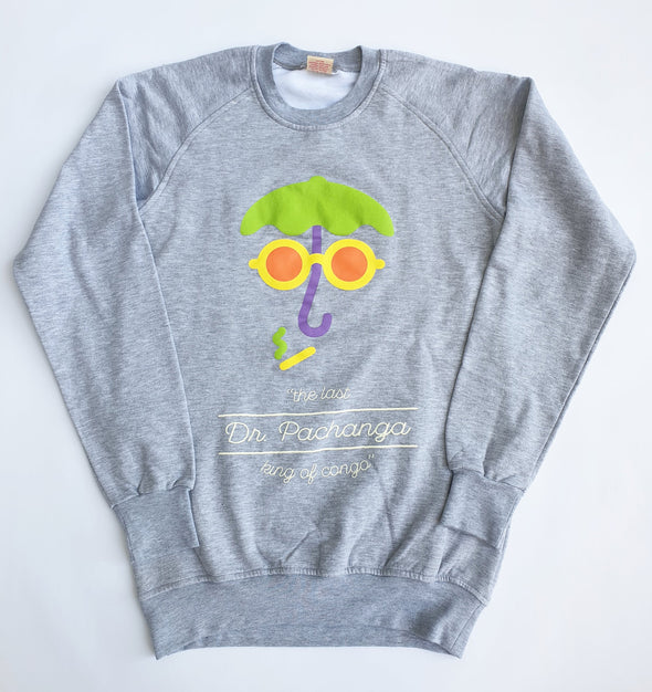 Crew Neck Sweater Umbrella Crew Neck Sweater College Grey / Medium DR PACHANGA