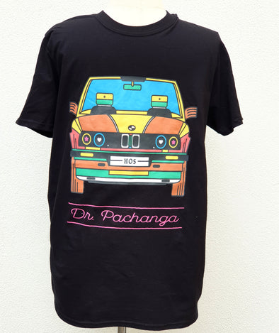 Gusheshe T-shirt T-Shirts Black / Small DR PACHANGA