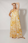 Kamala Flow Dress Dress Yellow / Medium DR PACHANGA