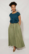 Zandi Skirt Skirt Olive / Small DR PACHANGA