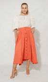 Zandi Skirt Skirt Orange / Small DR PACHANGA