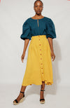 Zandi Skirt Skirt Yellow / Small DR PACHANGA