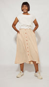 Zandi Skirt Skirt Beige / Small DR PACHANGA