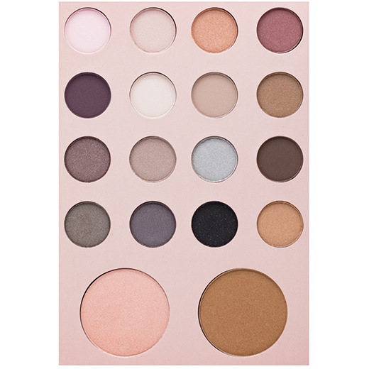 Face Secret 18 Colors Eyeshadow Palette - neon-circle