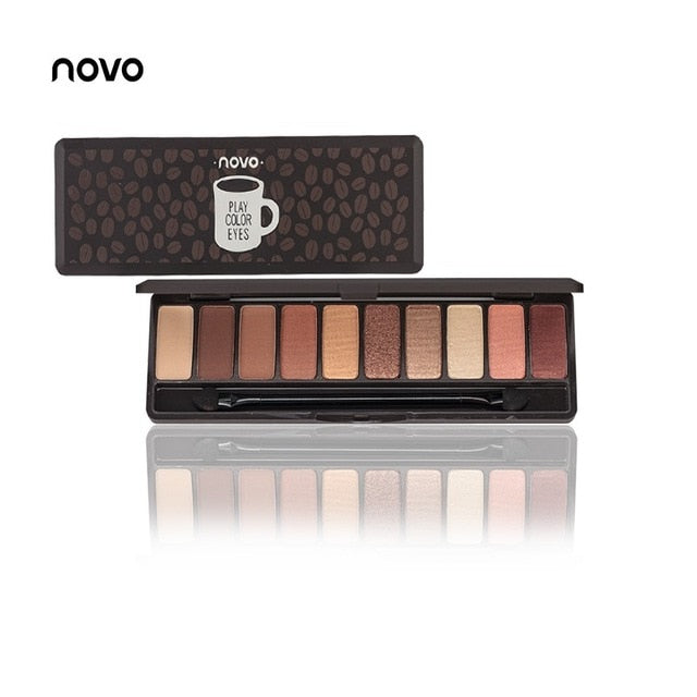 NOVO | eyeshadow palette | 10Colors - neon-circle