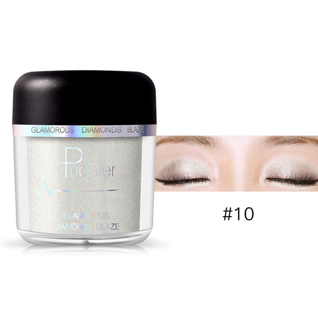 PD Glitter Waterproof Eyeshadow Powder - neon-circle