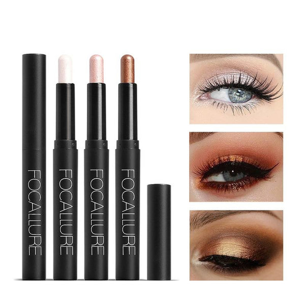 FOCALLURE Shimmer Luminous Eyeshadow Pencil - neon-circle