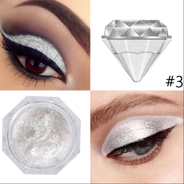 Diamond Shimmer Eyeshadow - neon-circle