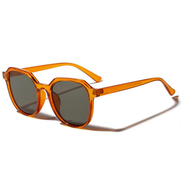 Orange Square Sunglasses for Women | UV400 - neon-circle