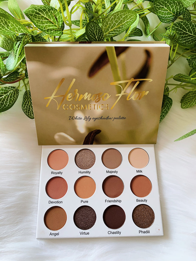 White Lily Eyeshadow Palette (Pre Order) shipping from 15 July